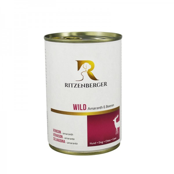 Wild mit Amaranth & Beeren