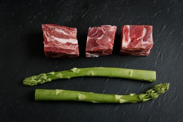 Ziege Muskelfleisch - große Stücke