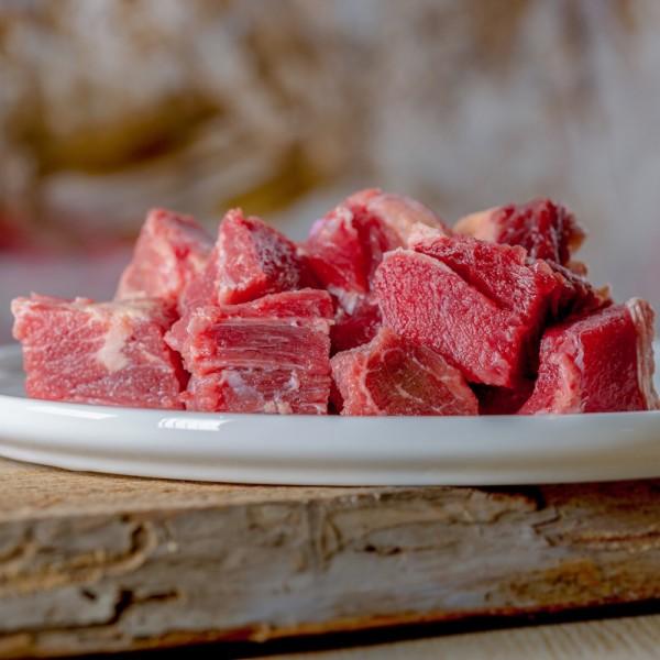 Rind Muskelfleisch durchwachsen
